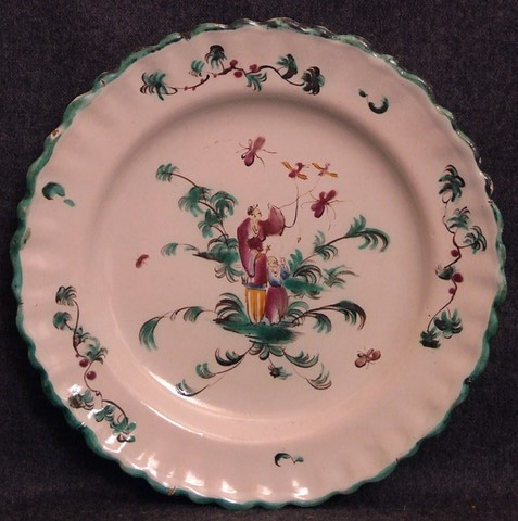Assiette Chinoiseries